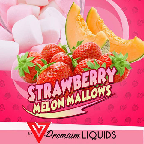 V Premium - Strawberry Melon Mallows 60ml Give in to Your Cravings! Ejuice Delivered to Your Doorsteps. Order Online, Send a Text Message or via Facebook Page.