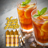 VAPE FRESH - Brewed Iced Tea 50ml Give in to Your Cravings! Ejuice Delivered to Your Doorsteps. Order Online, Send a Text Message or via Facebook Page.