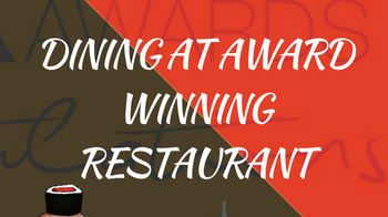 DINE AT AN AWARD WINING JAPANESE IN CARDIFF