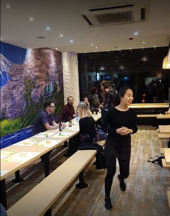 Tenkaichi Sushi and Noodle Bar, one the best places to eat in Cardiff