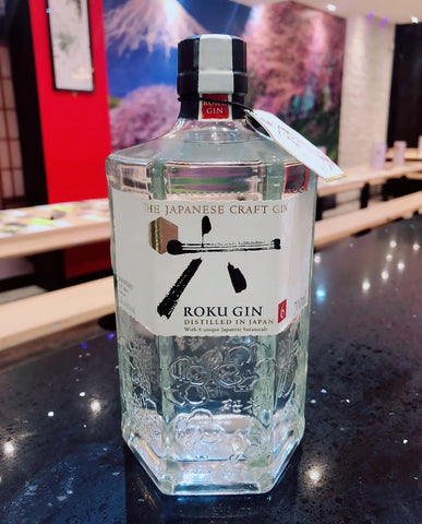 Roku Gin as supplied at Tenkaichi Sushi and Noodle Bar in Cardiff