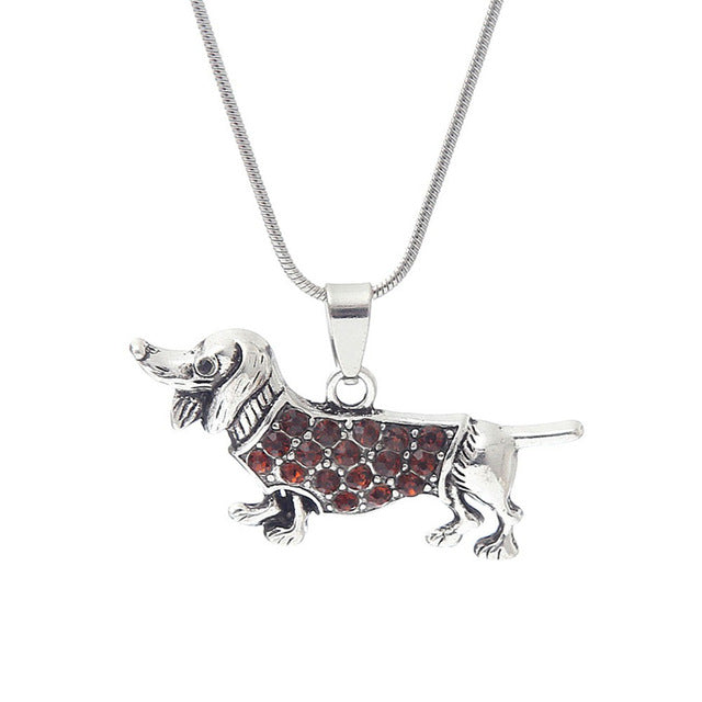 Dachshund Dog Necklace for Women & Men