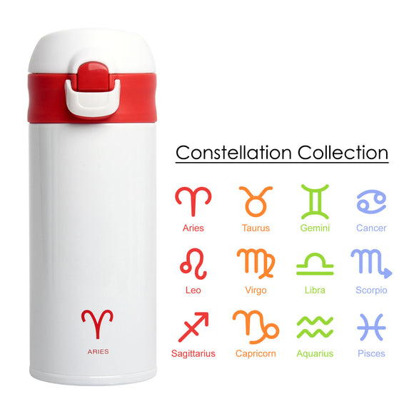 LITE Super Light Stainless Steel Vacuum Mug 350ml (Constellation Collection)