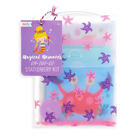On the Go Stationery Kit (Magical Mermaids)
