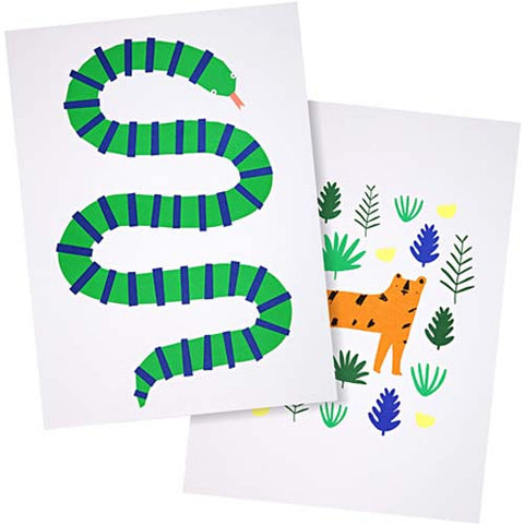 Jungle Art Prints (set of 2)