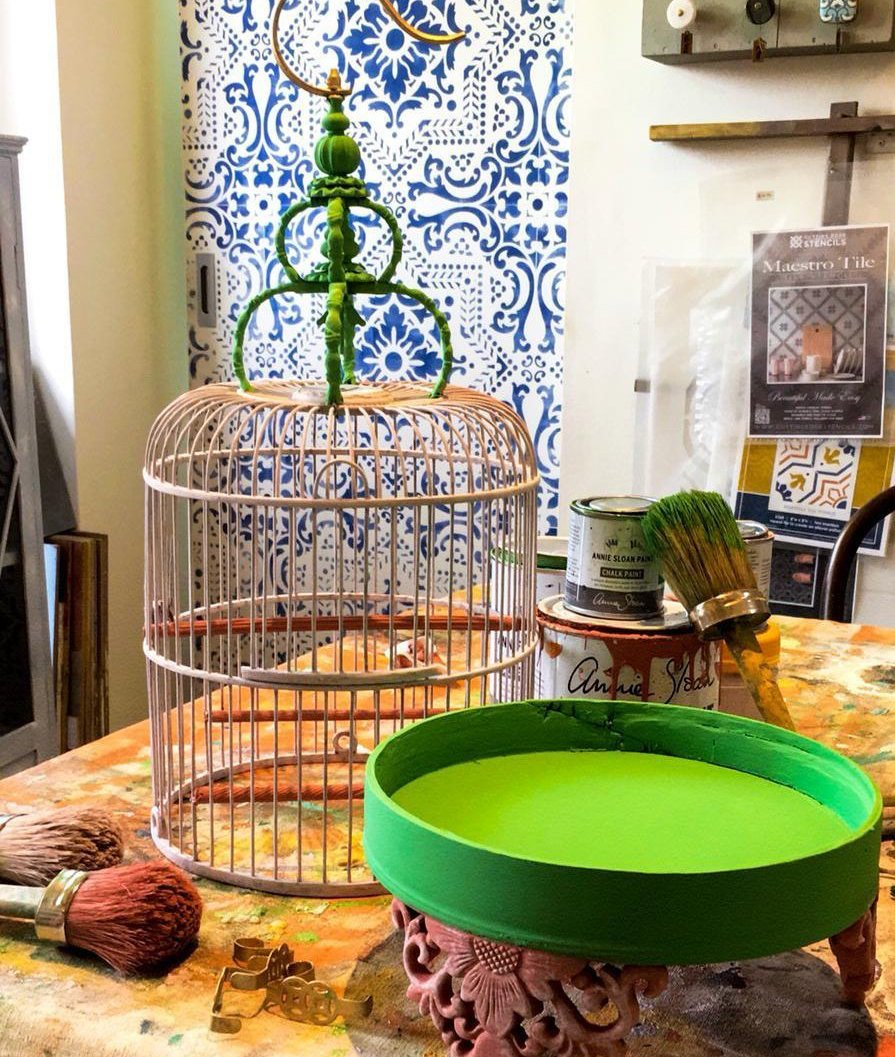 Make It Your Own: Paint a Bird Cage Workshop