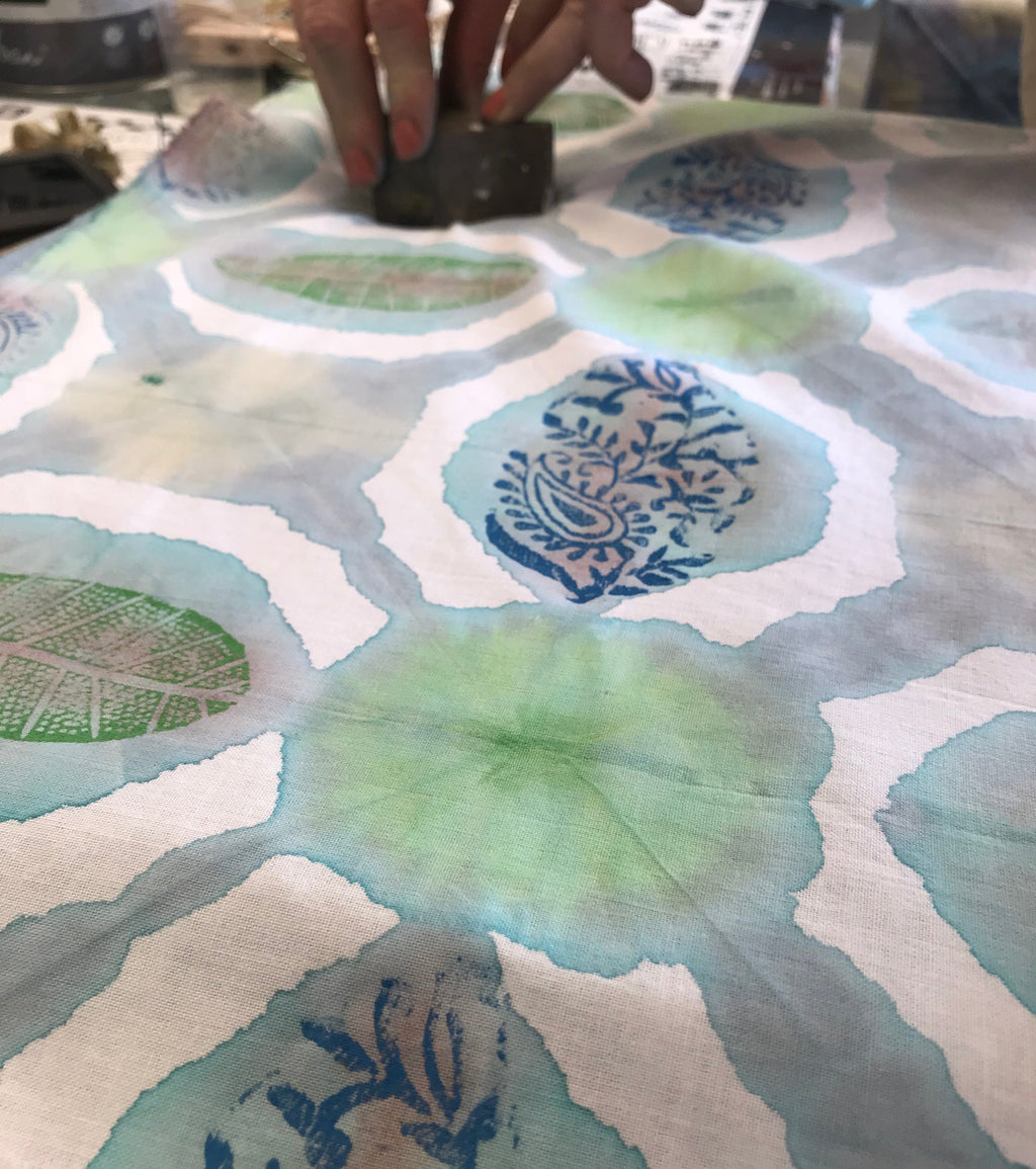 Shibori & Block Printing Workshop