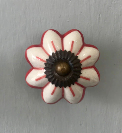 Red & White Flower Melon