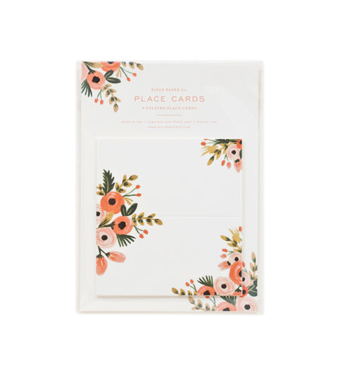 Pack of 8 Dusty Rose Place Cards