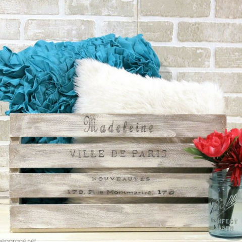Make It Your Own: Paint a Wooden Crate