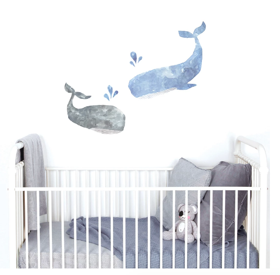 Whales - Love Mae Decals