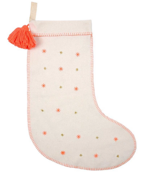 Star Felt Stocking - Meri Meri