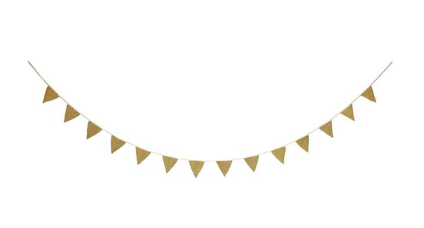 Gold Knitted Garland
