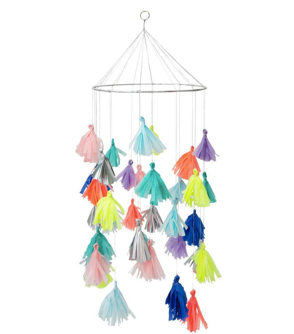 Bright Tassel Chandelier