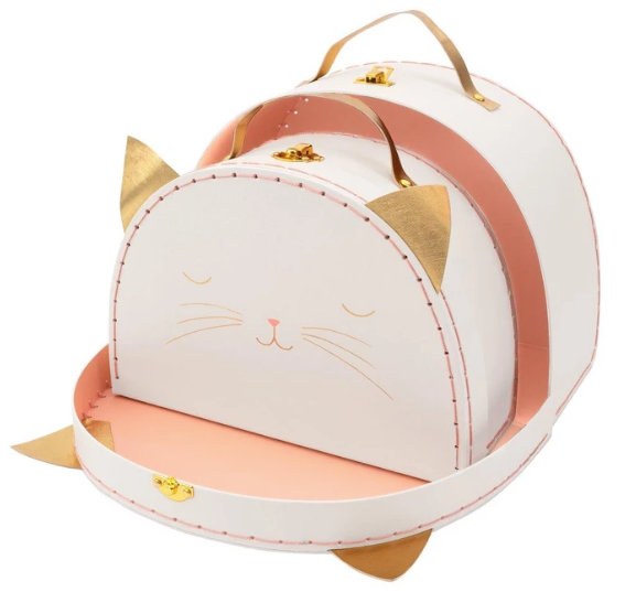 Cat Suitcases (Set of 2)