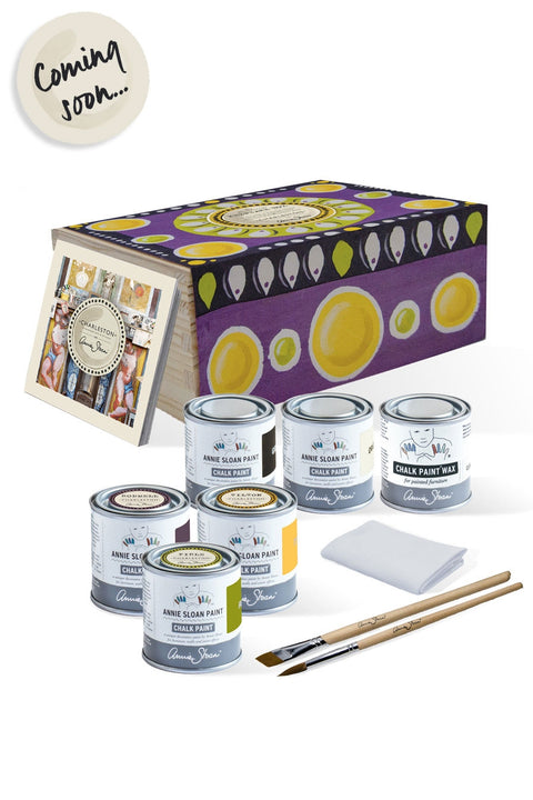 Annie Sloan with Charleston: Paint-Your-Own Keepsake Box