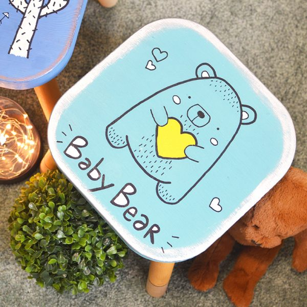 Paint a Children's Stool Workshop (Child friendly)