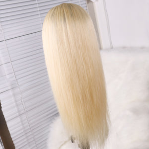 Preferred Hair 613 Ombre Long Straight Human hair Lace Front Wigs for Women