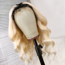 Load image into Gallery viewer, Preferred Loose Wave Wig Hair  Brazilian Ombre 613 Lace Front Wig Cord with the baby's Hair Wig