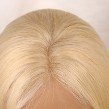 Load image into Gallery viewer, Bargain Products Preferred Human Hair 613 Blonde Straight Long Human hair Lace Wigs for Women