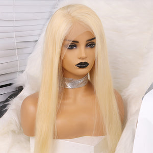 Bargain Products Preferred Human Hair 613 Blonde Straight Long Human hair Lace Wigs for Women