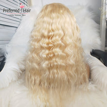 Load image into Gallery viewer, Loose Wave 613 Blonde Brazilian Remy Hair Full Lace Wig