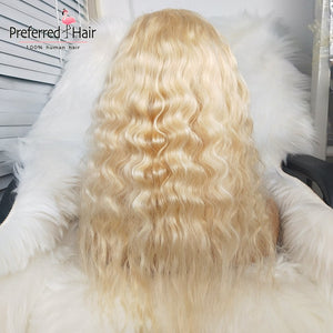 Loose Wave 613 Blonde Brazilian Remy Hair Full Lace Wig