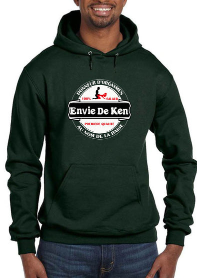 Sweat shirt à capuche Envie de Ken