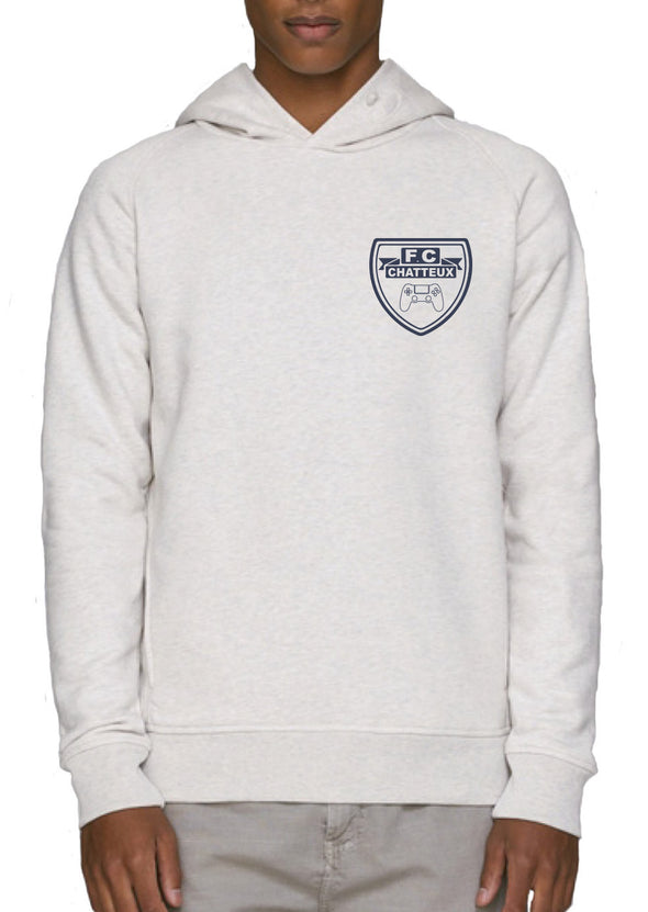 Sweat shirt à capuche F.C Chatteux