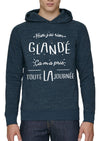 Sweat-shirt hier j'ai rien glandé