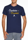 T-shirt Capitaine crochets