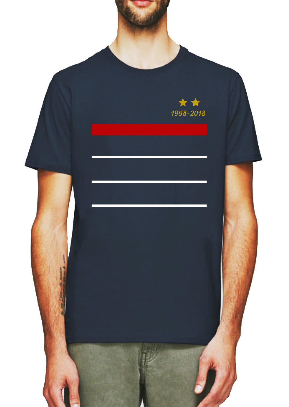 T shirt France légende 1998 2018