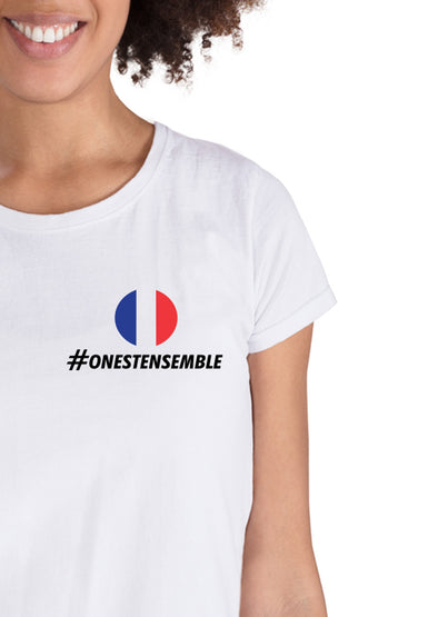 T-shirt On est ensemble