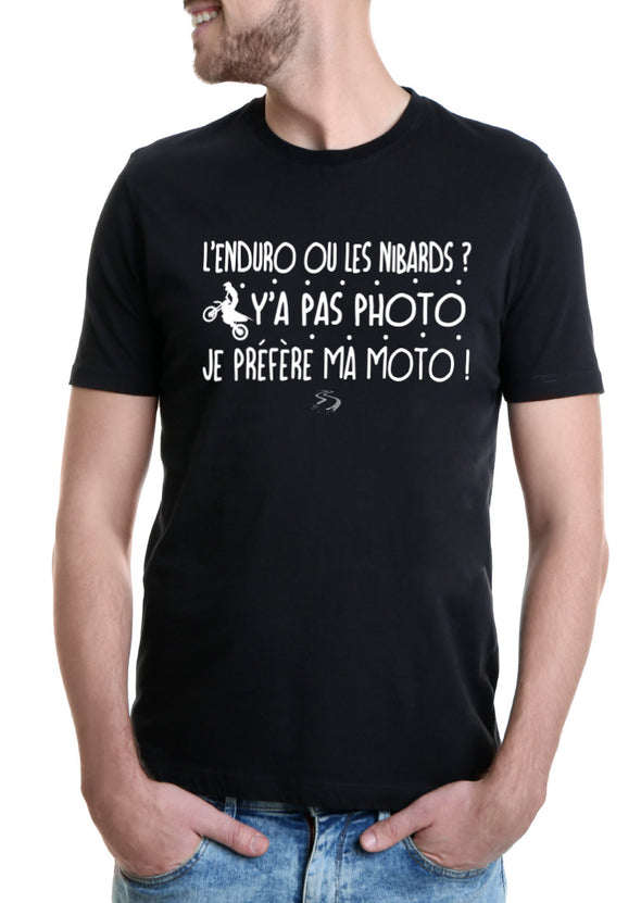 T-shirt L'enduro ou les nibards ?