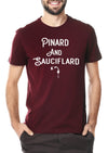 T-shirt pinard and sauciflard