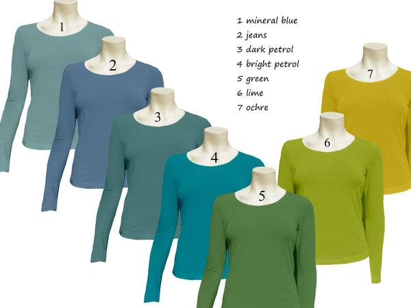 Basic shirt organische katoen / Basic organic cotton T shirt