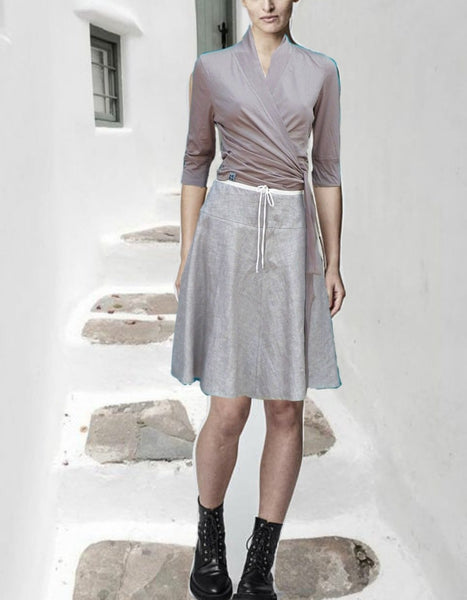 linnen klokrokje / linen billowing skirt