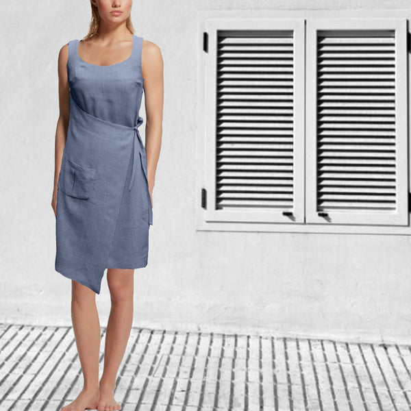 linnen kitchen dress  / Linen Kitchen dress