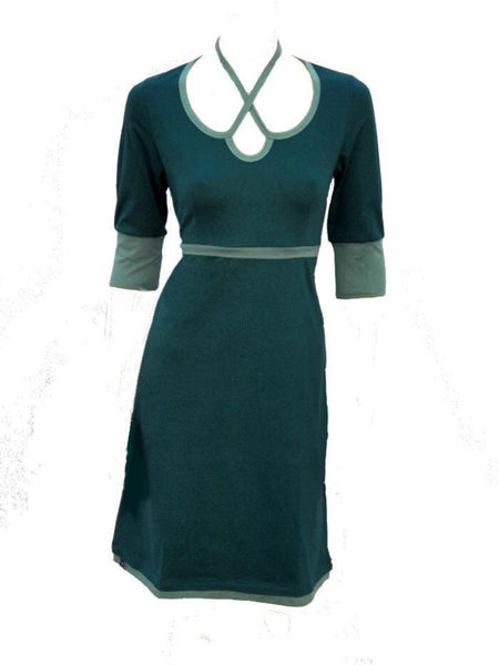 sportief tricot jurkje / sportive jersey dress