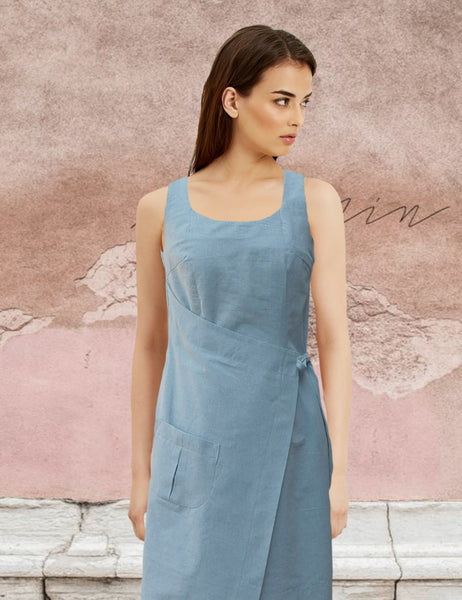 """kitchen dress""gemaakt van recycled denim / Kitchen dress"