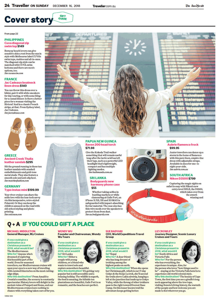 Jac Cadeaux French Clothing Sydney Morning Herald