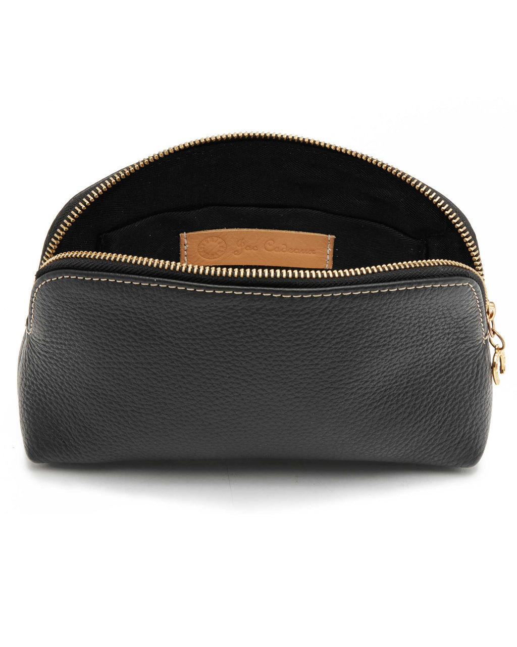 The Sanchia Pochette - Leather Cosmetic Pouch