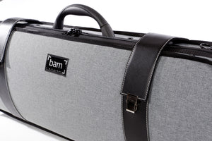 GREY FLANNEL HIGHTECH OBLONG VIOLIN CASE