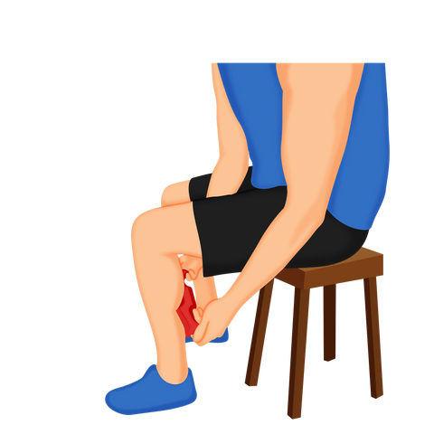 Calf Muscle Recovery Tool - How To