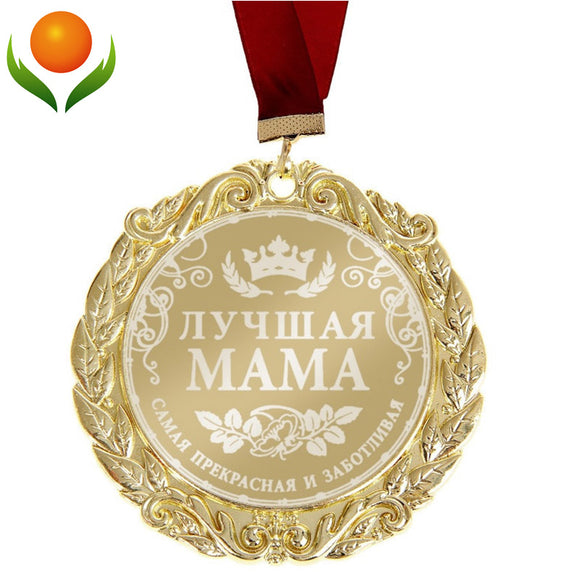 Gold medal for golden Mother