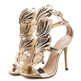2017 women shoes high heels sandal patent leather gladiator women pumps sexy ladies stiletto party wedding shoes woman
