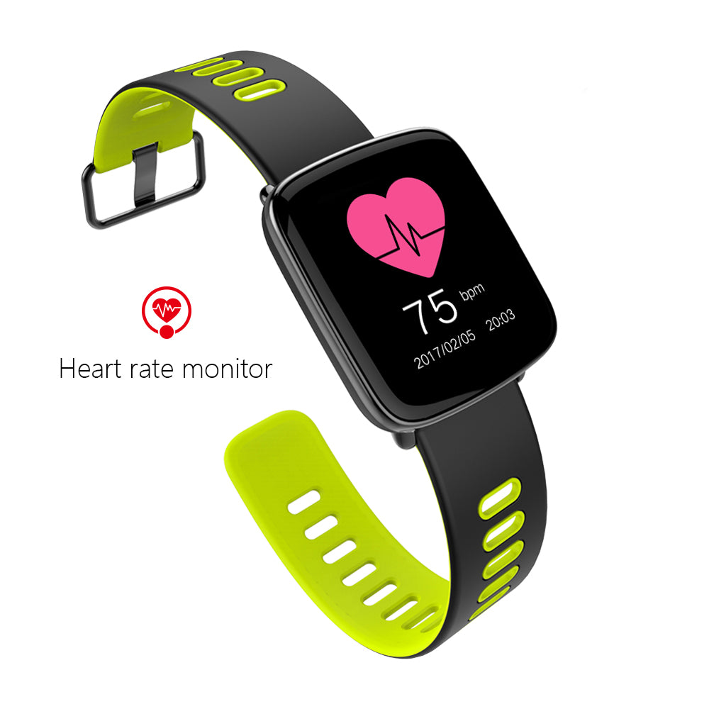GV68 Heart Rate Monitor Smart Watch IP68 Waterproof Sports Bluetooth Smartwatch Swimming with Replaceable Straps for IOS Android - Bara Jan Store