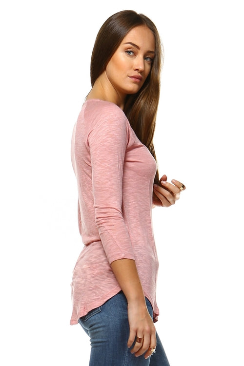 Women's Long Sleeve Round Neck Top - Bara Jan Store