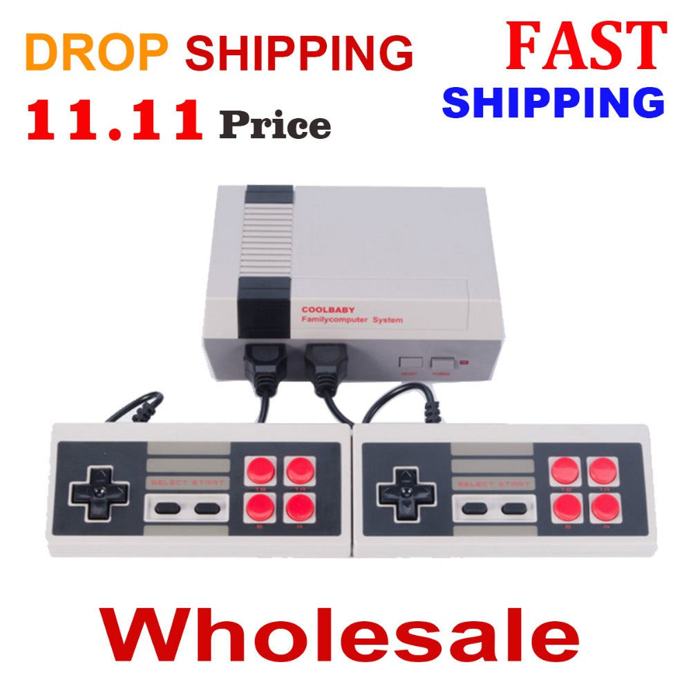 400/500/600/620 Games HDMI/AV Drop Shipping Retro Classic Handheld Family Mini TV Video Game Console player 8bit games