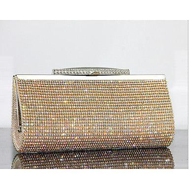 Women's Bags Other Leather Type Evening Bag Crystal Detailing for Event/Party Summer - Bara Jan Store